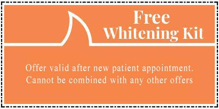 New Patient Whitening Special
